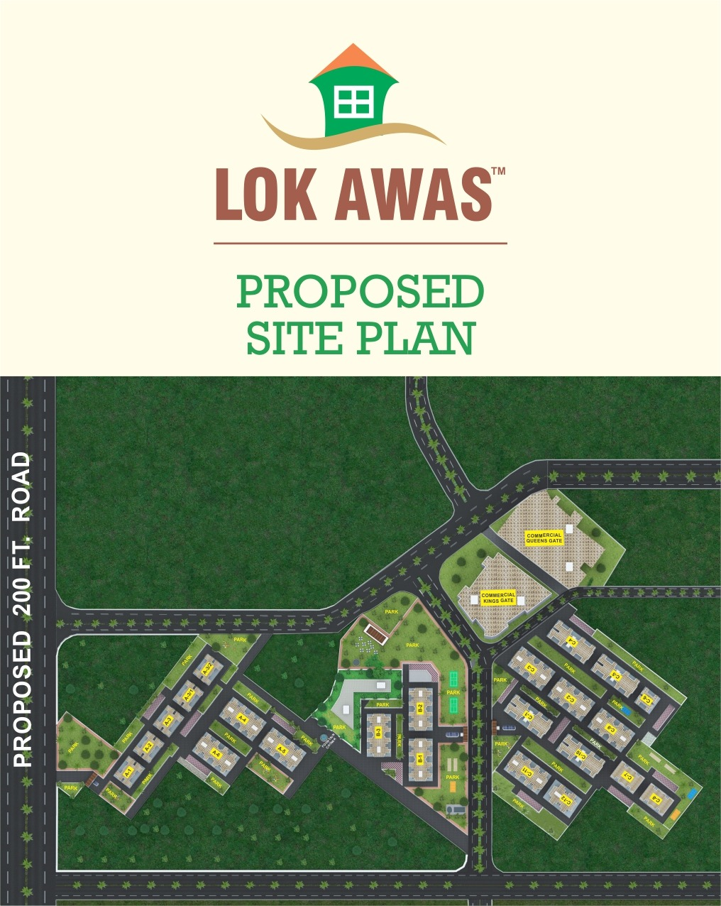 Proposed Site Plan - Lok Awas
