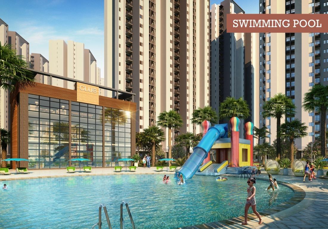 Swimming Pool - Affordable Housing Lok Awas Mohali