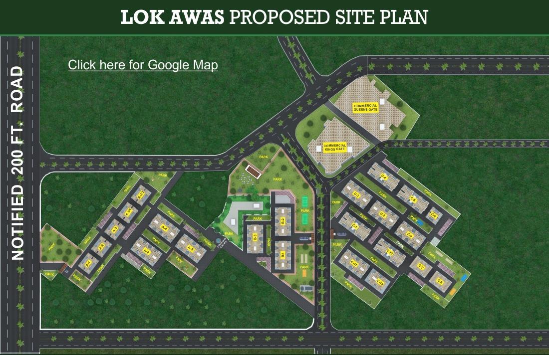 Location Map - Lok Awas Mohali