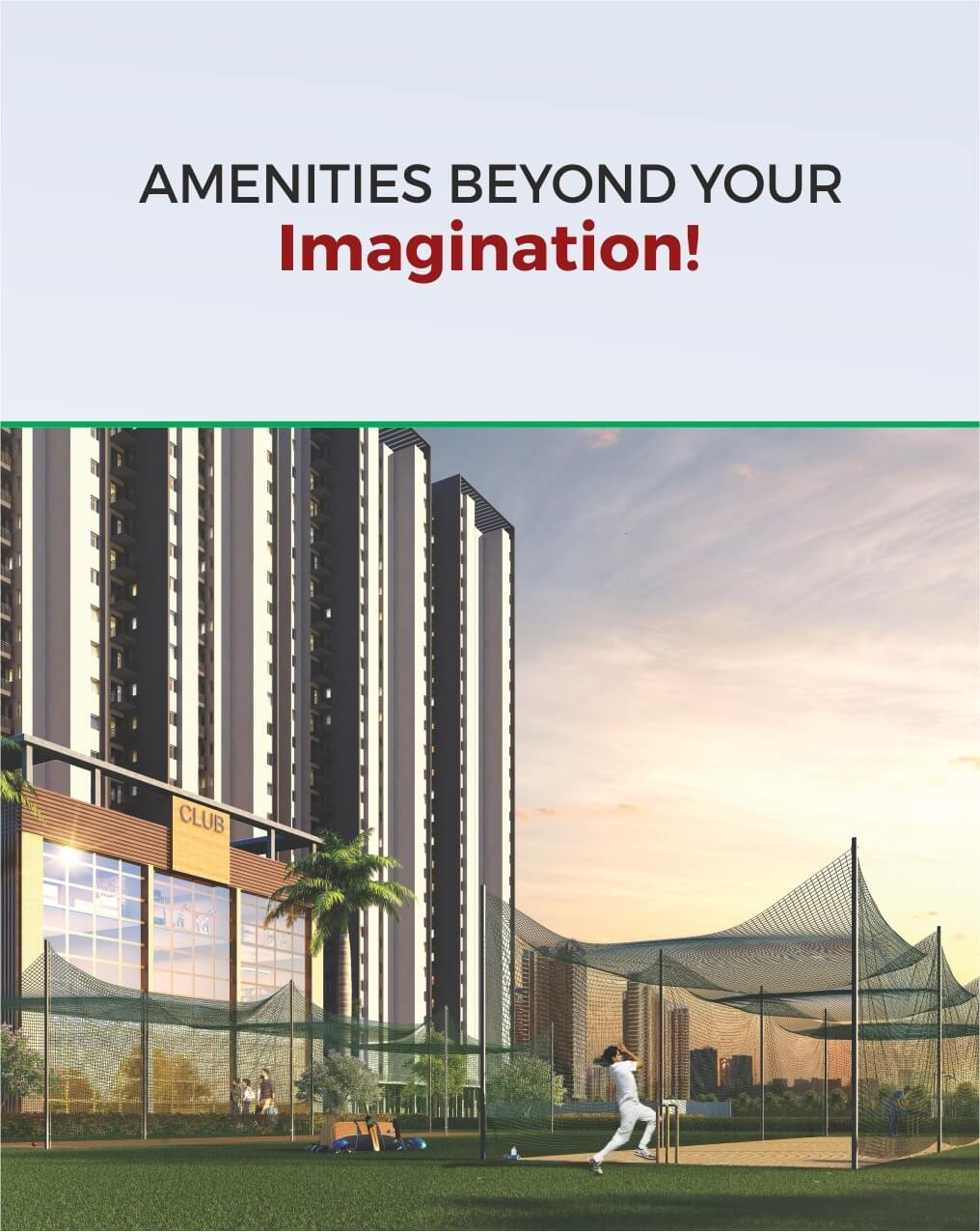 Amenities Beyond Your Imagination!